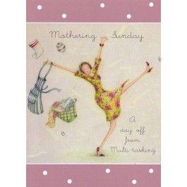 Mothering sunday Card by Berni Parker