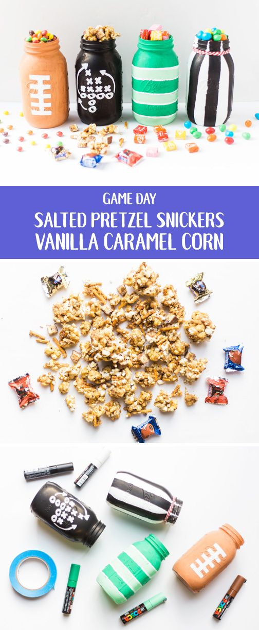 There are many things that are essential when hosting a game day party. But in our opinion, delicious snacks and sweet treats are at the top of the list. Check out this recipe for Salted Pretzel Snickers Vanilla Caramel Corn for a sweet and salty creation hungry football fans of all ages will enjoy. Head to Target to find more tailgating essentials you'll need to cheer on your favorite team.