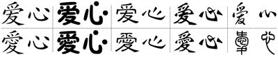 Site that translates English names into Chinese characters