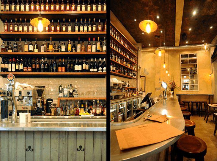 Ombra cafe interior. Wellington, New Zealand. NZ architects http://architecturehdt.co.nz/hospitality/