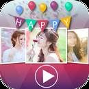 Download Happy Birthday Video Maker:  Happy Birthday Video Maker V 2.4 for Android 4.4+ Happy Birthday Video Maker can help you create Happy birthday video- create your own Birthday Video – slideshow video from images and music .Happy Birthday Video Maker very easy to useCreate Amazing your own Video Happy Birthday with this...  #Apps #androidgame ##CreativeStudioApps  ##Photography