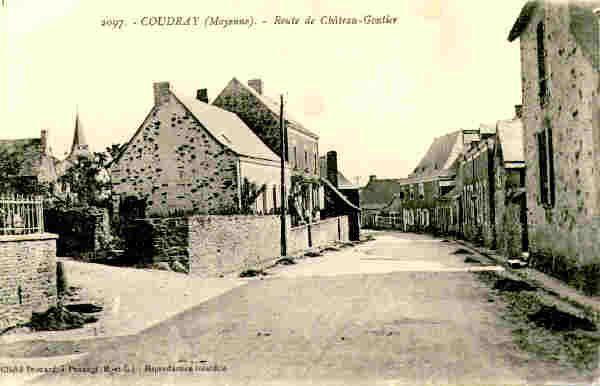 Coudray dans le haut anjou, près de Château-Gontier en Mayenne