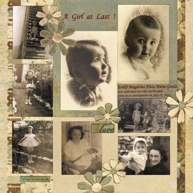 heritage photo album ideas - 1000 ideas about Album Scrapbooking on Pinterest