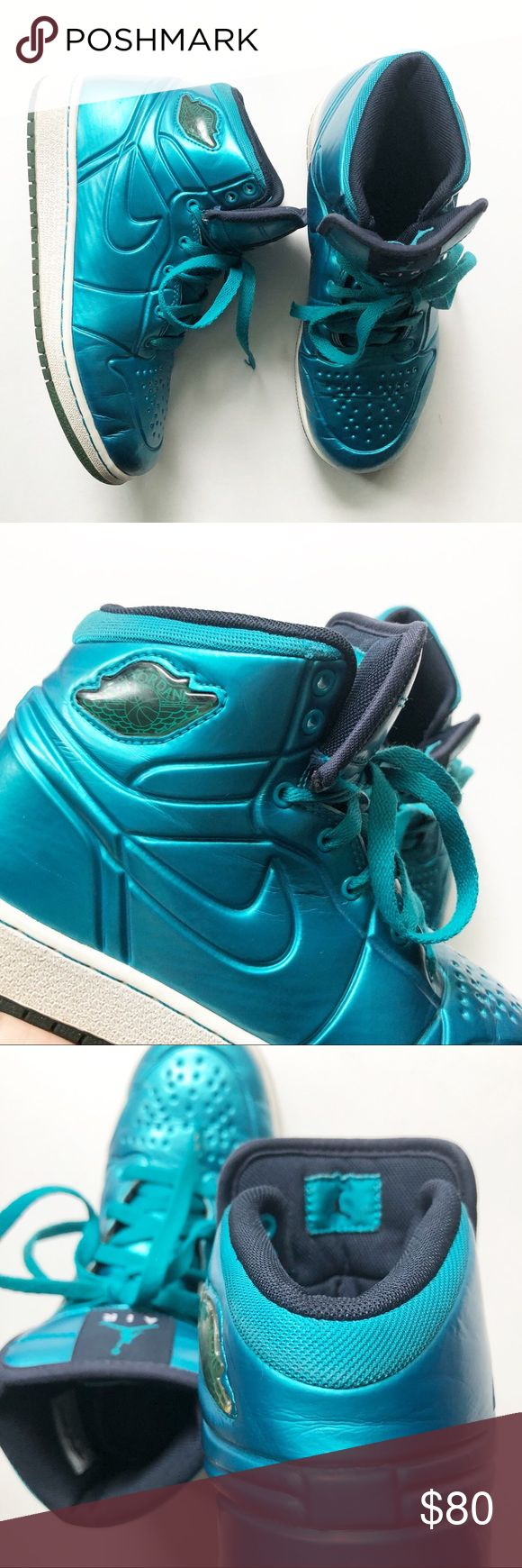 Nike Rare Air Jordan 1 Anodized Sneaker 5Y/6.5W Rare 2010