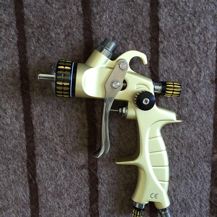 125.00$  Buy now - http://alih8q.worldwells.pw/go.php?t=32468012260 - SAT1215-A automotive paint gun painting gun spray machine professional airbrush pressure tank
