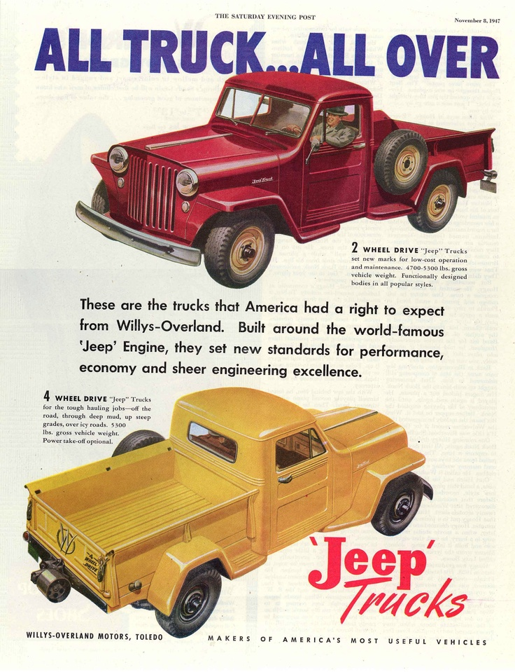 1947 Willys Ad.