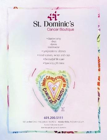 St. Dominic's Hospital Cancer Boutique Announcement Advertisement