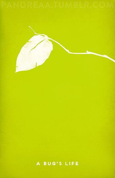 Minimal Movie Poster: A Bug's Life