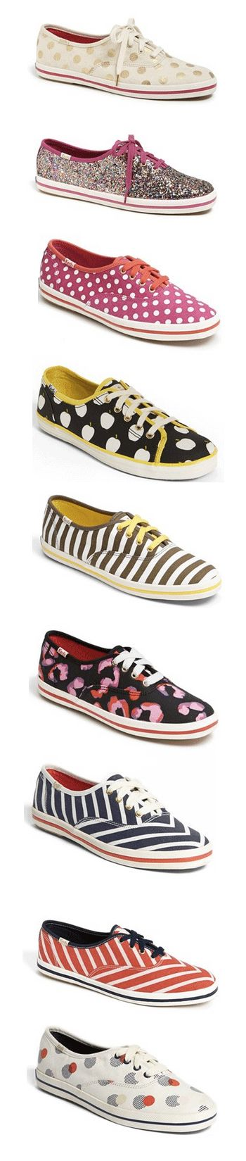 Keds for kate spade new york - so many pretty designs!  Which one is your favorite?  http://rstyle.me/n/btvchnyg6