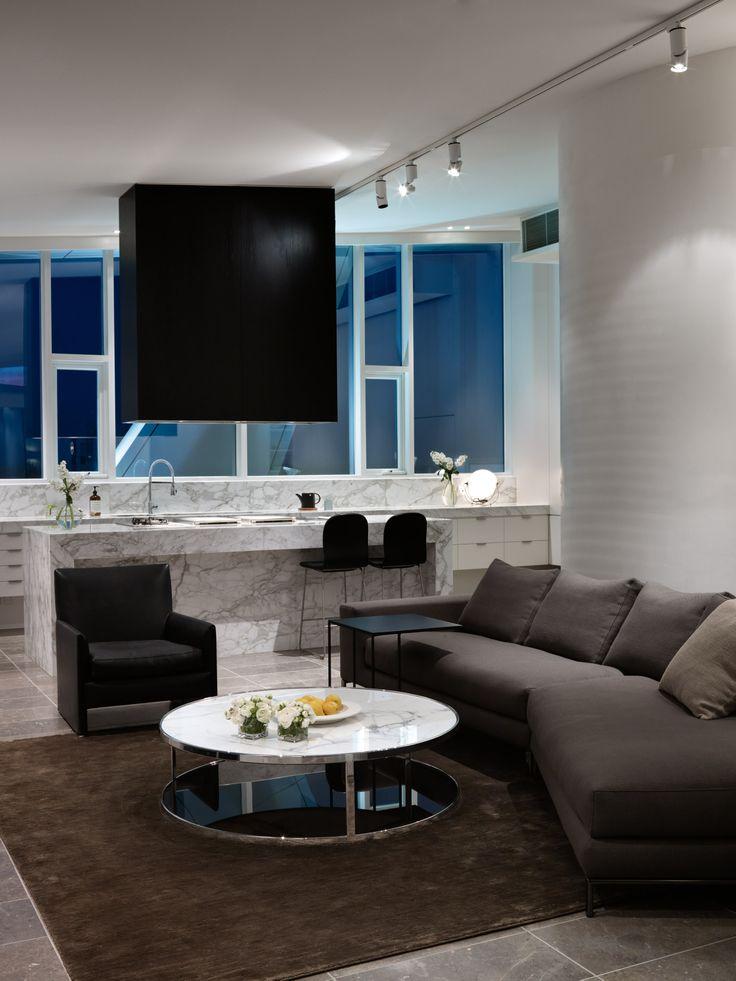 7 Yarra Penthouse - Bird de la Coeur Architects  Interiors: Hecker Phelan Guthrie Photo: Dianna Snape