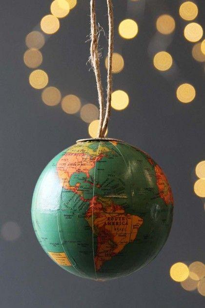 Globe Hanging Decoration