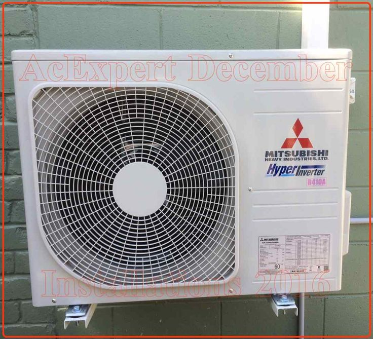 Mitsubishi Air conditioning installations Brisbane Our second best Installer glen done this one