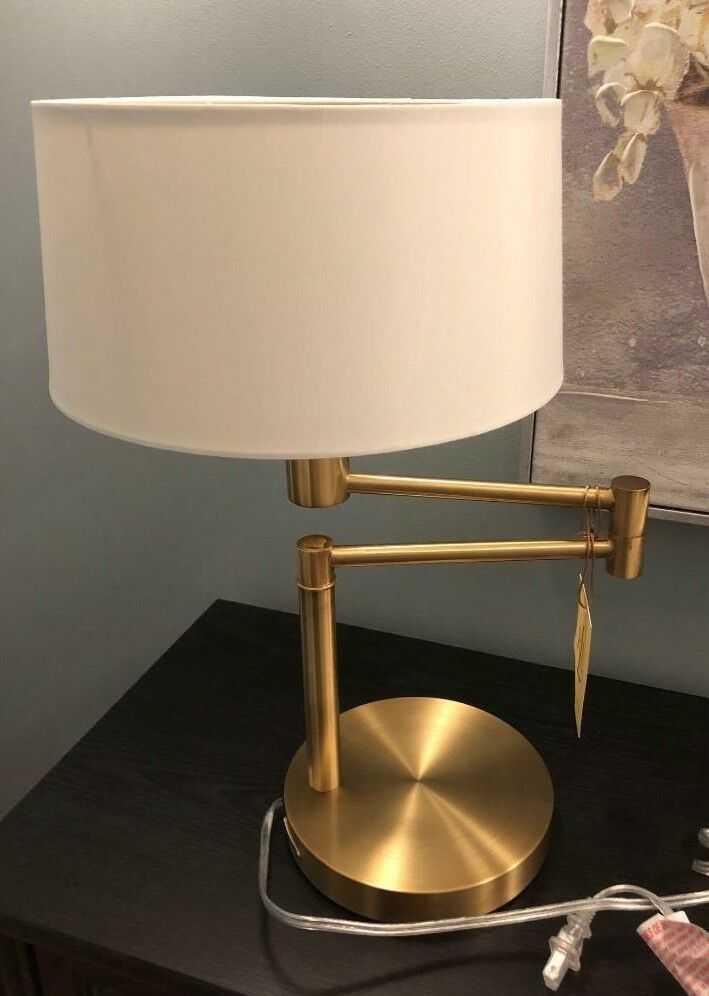 100 X25 Authentic Ralph Lauren Minimum Width X28 With Arm Not Extended X29 X3a 15 5 Quot Maximum Width X28 With Brass Table Lamps Brass Table Lamp