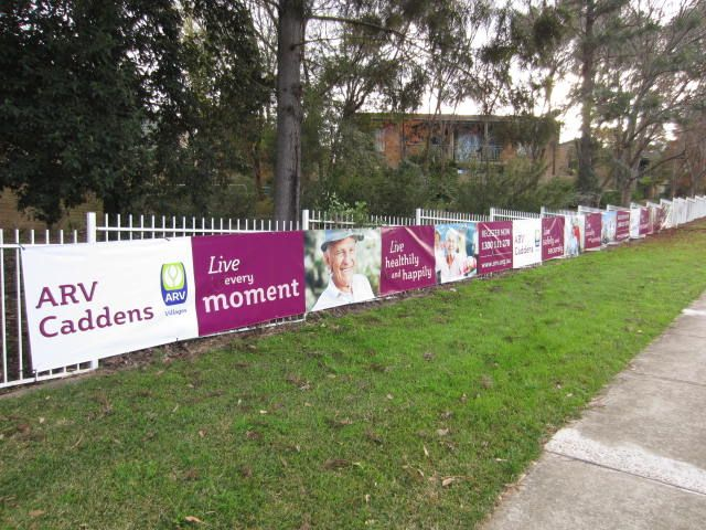 Cunneen Signs -Anglican Retirement Village banner