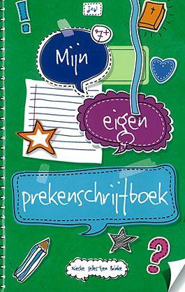 Mijn eigen prekenschrijfboek - 9789023970088