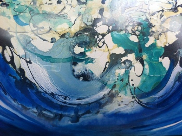 Coming up for air by sue bannister. Paintings for Sale. Bluethumb - Online Art Gallery