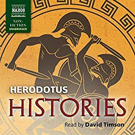 """Another must-listen from my #AudibleApp: """"Histories"""" by  Herodotus, narrated by David Timson."""