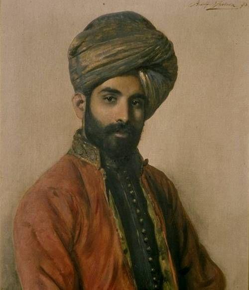 Rudolph Swoboda (1859–1914) - Maulvie Raffindin Ahmad. 1893