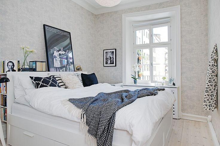 #brimnes bed bedroom blue