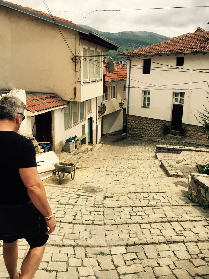 Moth and I in Ohrid Macedonia