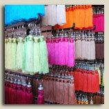 Moroccan Curtain Tassels on Etsy.