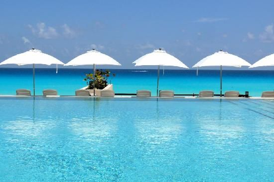 Secrets The Vine Cancun Resort.... cant wait to be laying here with a drink in my hand!