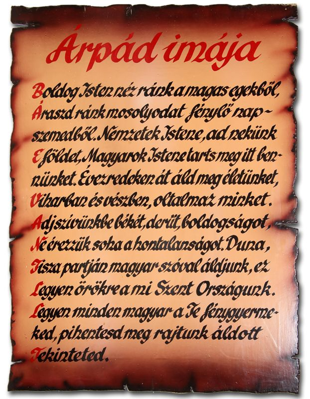 "Prey of ARPAD ---in the  Resrtaurant of   "" Bujdosó"" ""Translvania"