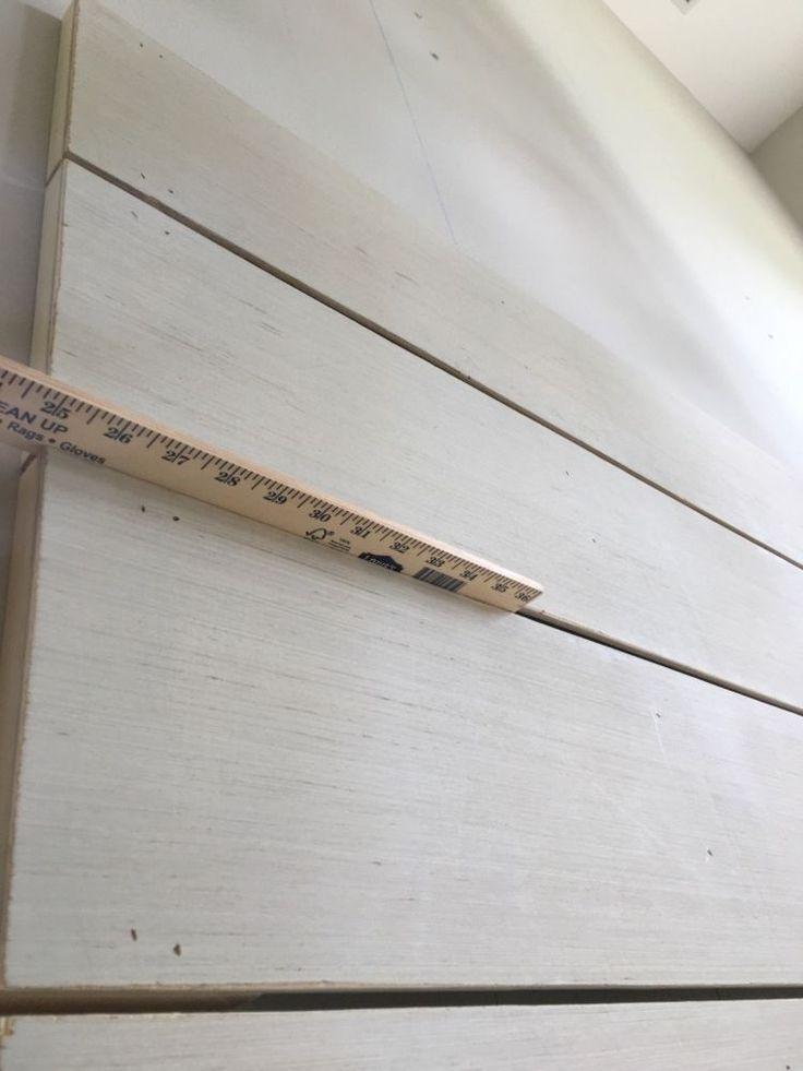 DIY Shiplap Wall