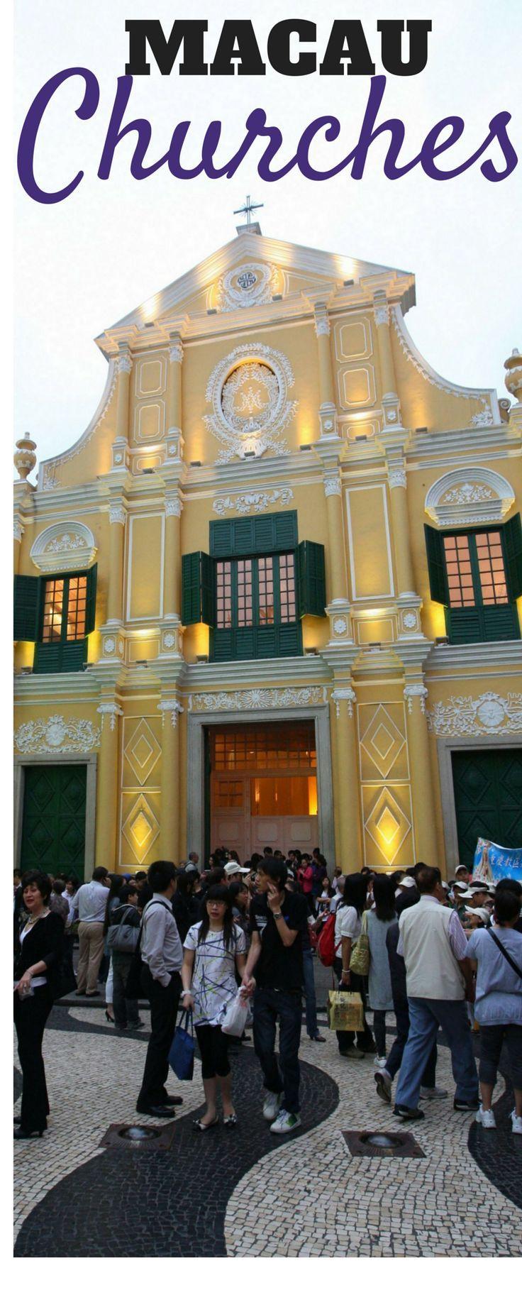 St. Dominic's Church in Macau.
