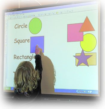 DIY Smartboard for #Homeschool. This has the potential to be awesome!