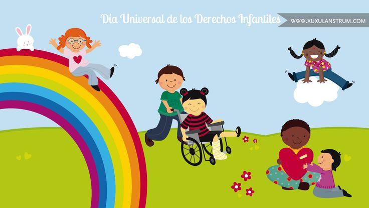 Ilustración para campaña a favor de los derechos de los niños