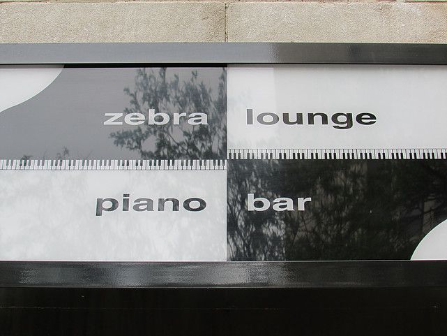 piano bars- These places work just a little bit harder and offer something not easily found elsewhere.