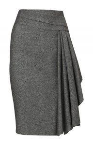 Karen Millen Bodycon Pencil Skirt Black [#kms013] - $111.70 :