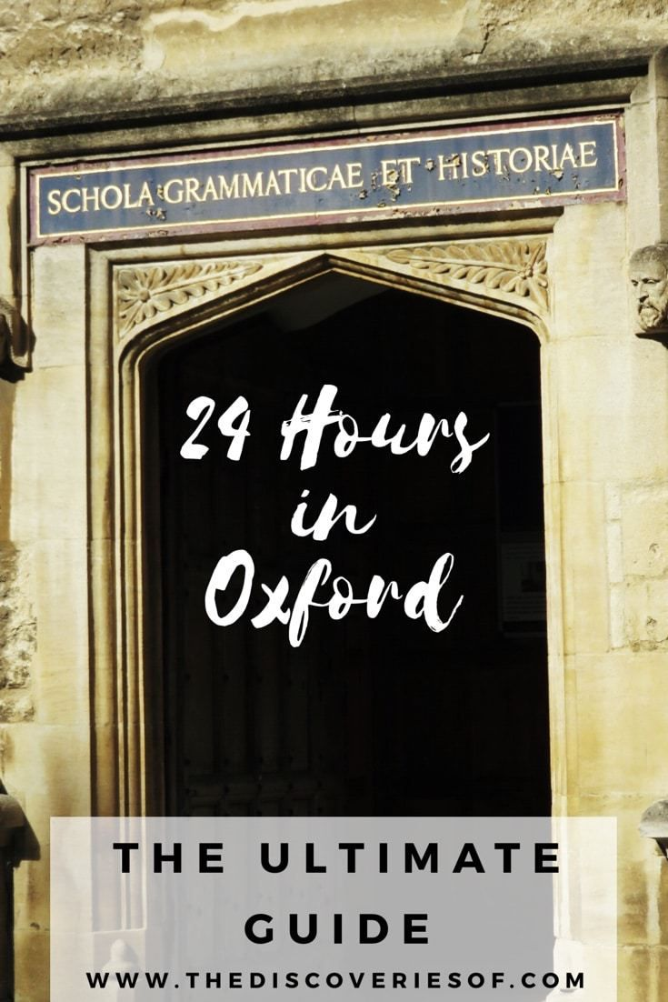 24 Hours in Oxford, an Oxford travel guide with Oxford University, the pub favoured by JRR Tokien and CS Lewis and a free walking tour of Oxford. Read now.