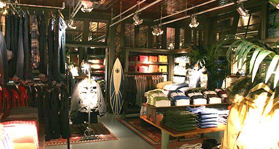 Hollister Interior Menswear Retail Design Pinterest
