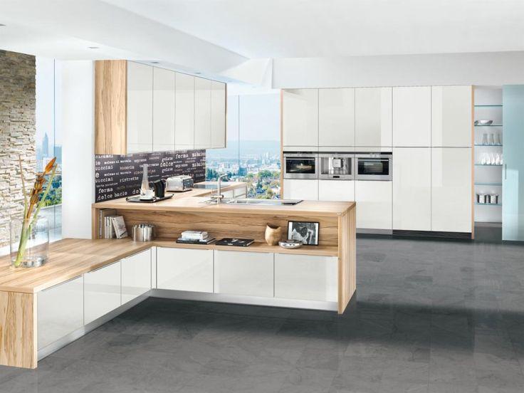 kuhles moderne kuechenideen mit warmen holzelementen standort images oder bafffadcee white interiors stiles