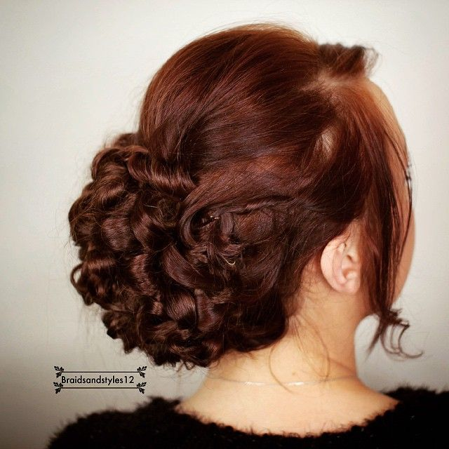 53 best updo hairstyle images on pinterest beauty stuff black an elegant bridal updo perfect for a wedding updo hairstyle youtube below pmusecretfo Images