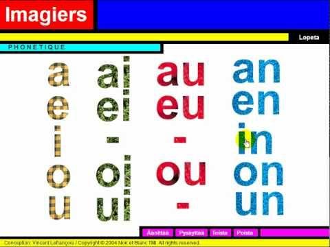 FRANÇAIS LANGUE ÉTRANGÈRE = Phonétique = Les voyelles - YouTube
