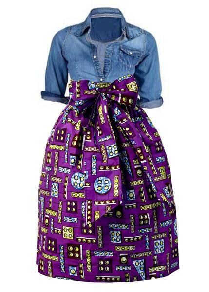 Best 25 African Print Clothing Ideas On Pinterest