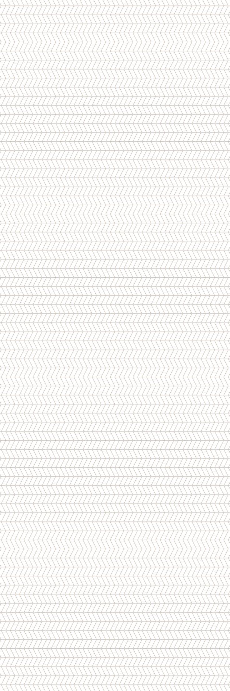 Custom printed Herringbone wallpaper from the 'REFRESH' colour range #herringbone #wallpaper #muurgraphics