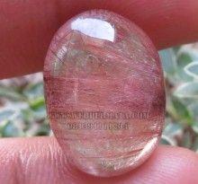 Batu Rambut Cendana Merah | Web Batu Permata, Koleksi Batu Permata, Batu Mulia, Jual Harga Murah