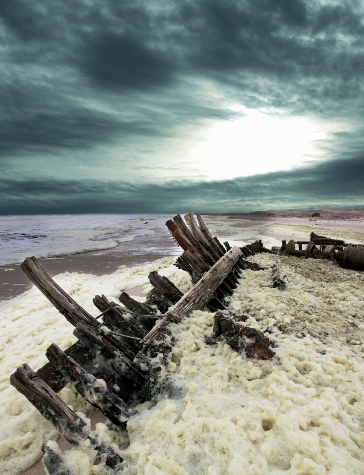 The Skeleton Coast, Namibia. One of the awesome images from 'Your Travel Dream'…