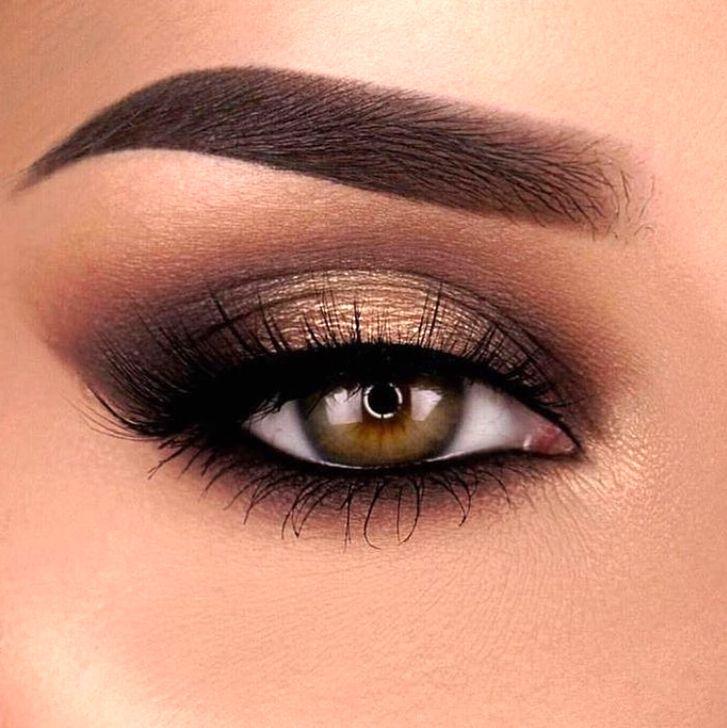 показать фото с макияжем для карих глаз подарок оказывается