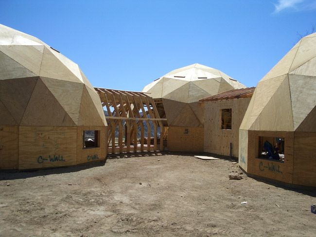 17 Best Images About Geodesic Dome Homes On Pinterest