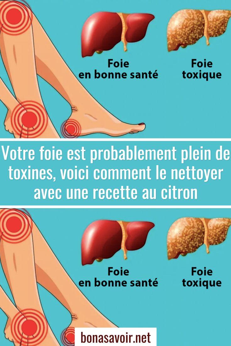 Votre foie est probablement plein de toxines, voici ...