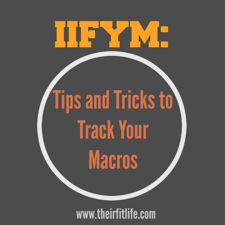 Tips And Tricks To Encourage Better Nutrition: Tips And Tricks To Track Macros On Their Fit Life