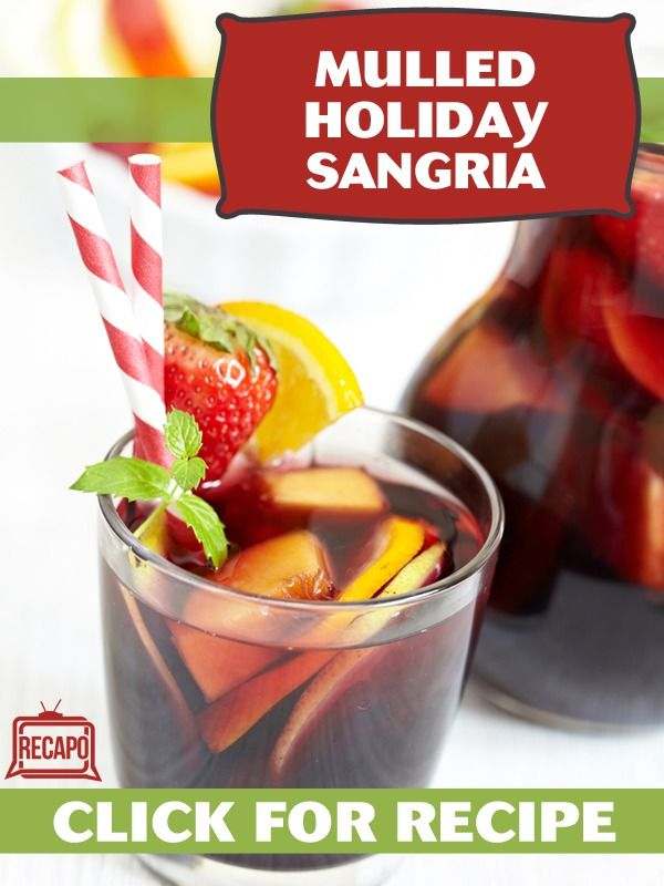 Homemade Non Alcoholic Drink For Holidays Food Network