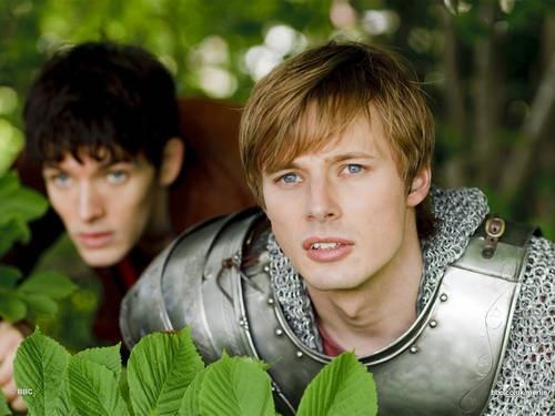 Arthur and Merlin - 'Merlin' Season 2 #Merlin #MerlinMonday