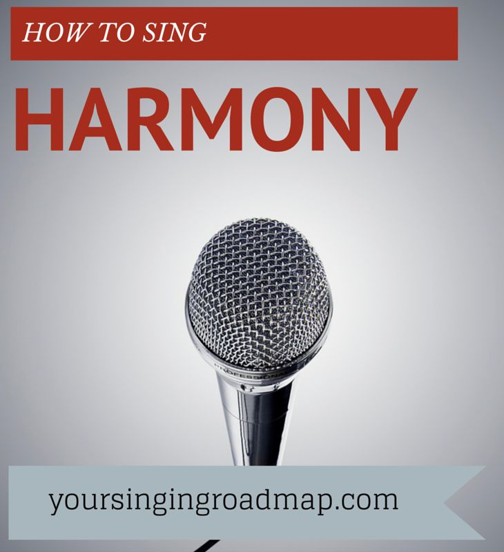 Learn to Sing Pop Harmony - Singing Harmony