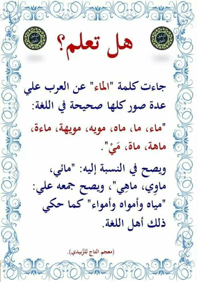 Pin By Eni Ams On الضاد Learn Arabic Language Learning Arabic Arabic Language
